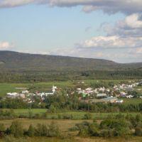 Vue sur le village de Ham-Nord