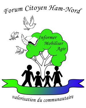 Logo Forum Citoyen Ham-Nord