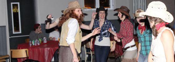 Les cowgirls du Carnaval