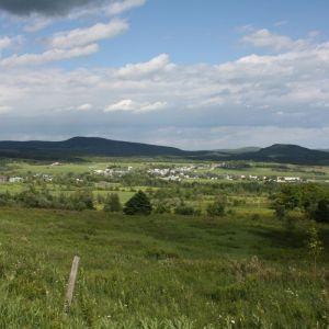 Vu village de Ham-Nord