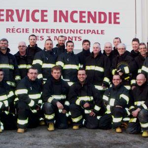 Pompiers Régie Intermunicipale des 3 Monts