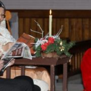Père Noël du 150e de Ham-Nord